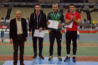 Μετάλλια και ρεκόρ για τους αθλητές της Λέσβου στο 32ο Πανελλήνιο Πρωτάθλημα Κλειστού Στίβου (vid, pics)